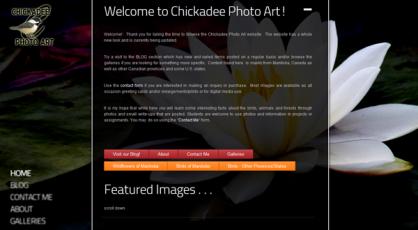 Chickadee Photo Art based in Winnipeg, Manitoba