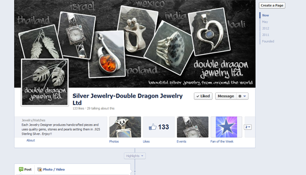 Double Dragon Jewelry on Facebook