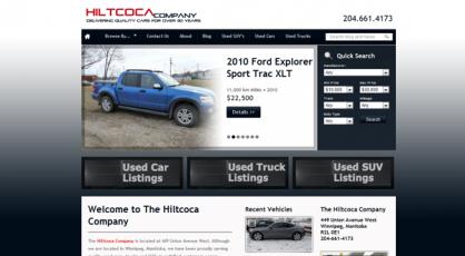 Hiltcoca - Quality Used Vehicles based in Winnipeg, Manitoba
